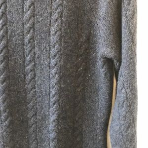ply cashmere Sweaters - Navy blue ribbed knit cashmere sweater size Small